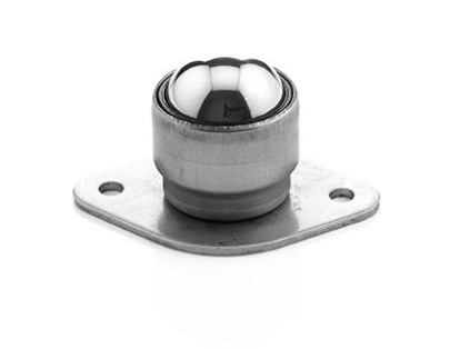Glide - Units with Plate Fixing  - Carbon Steel Load ball, Zinc Plated Housing