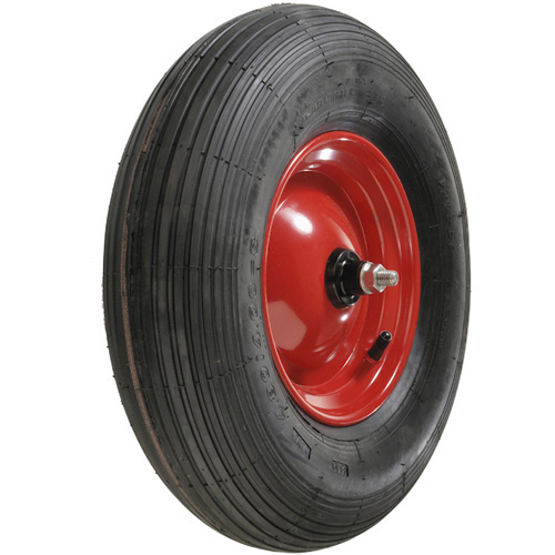 Pneumatic wheels fitting for different types / brands of wheelbarrows