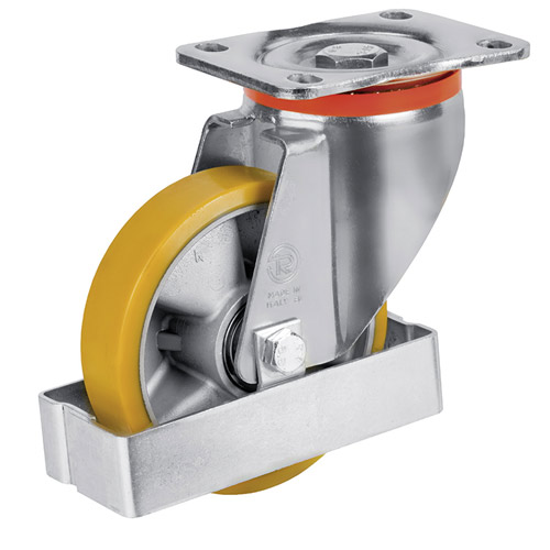 OPTION Foot guard suitable for housing type M - Swivel castor housing