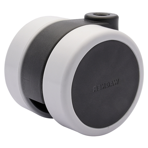Furniture castors Ø 60 mm with SOFT tread  - Fixing order separately!