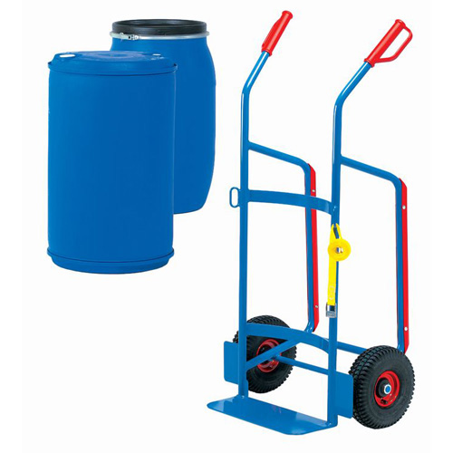 Drum trolleys for 120-220 litres plastic drums