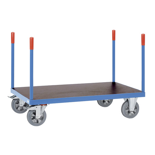 Heavy duty Stanchioned trolleys