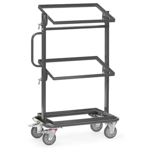ESD storage trolleys open frame - conductive