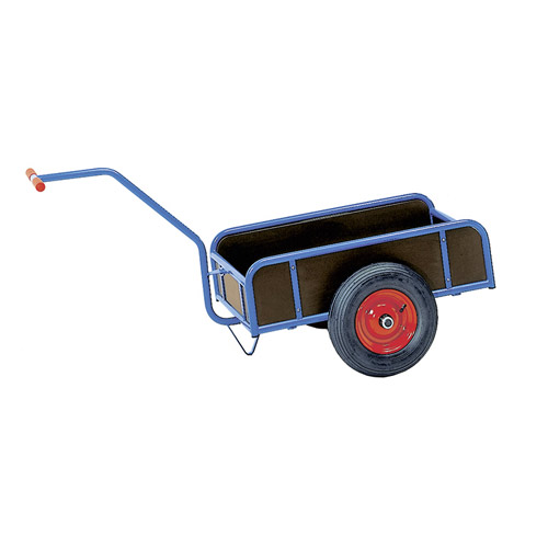 Hand cart, 1 axle, with 4 sides 180/250 mm high