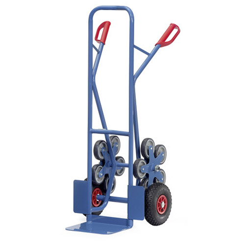 Stair climber truck - Load capacity 200 kg - Toe plate 250x320 mm