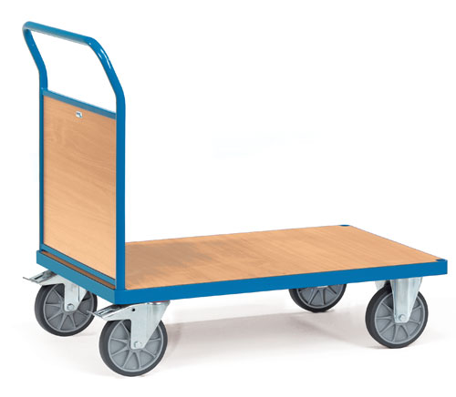 Platform truck with 1 timber side - available in 4 sizes