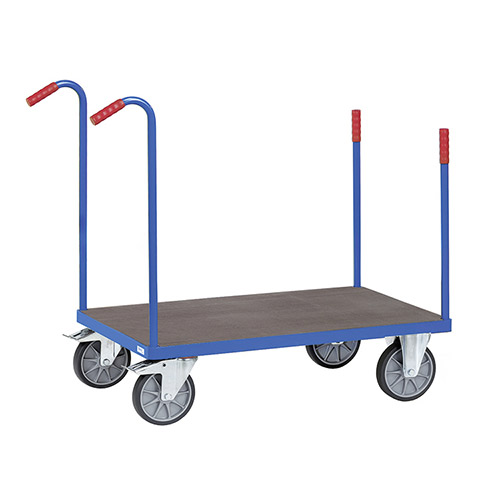Timber decked Stanchion Truck - available in 4 sizes, waterproof plate