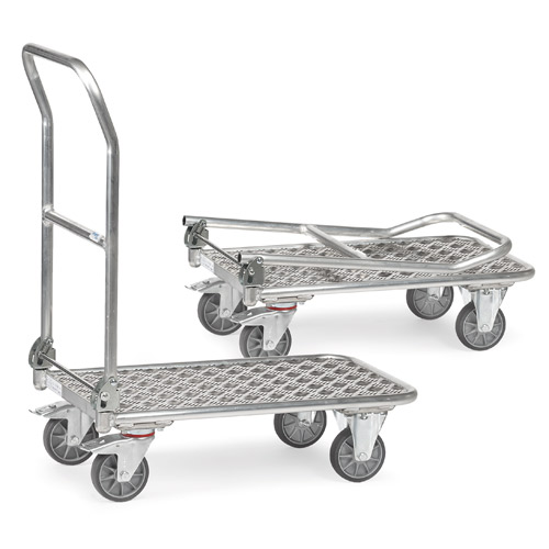 Foldable Aluminium Platform truck - Load capacity 200 kg - available in 2 Sizes