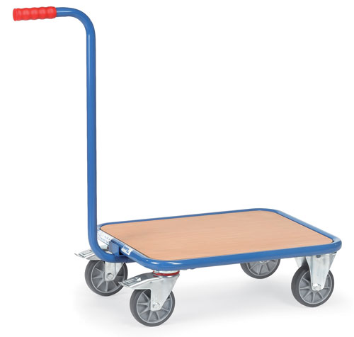 Dolly with Gooseneck Handle - Platform size 600x500 mm