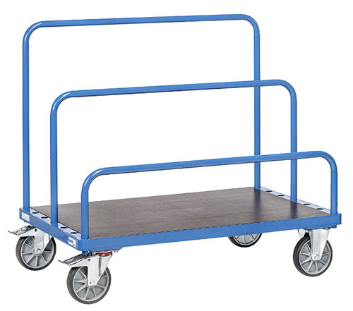 Sheet Material Trolley - 1600x800 mm - order the tubular supports separately!