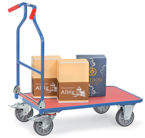 OPTILINER - Platform truck with ergonomic handles - Foldable !
