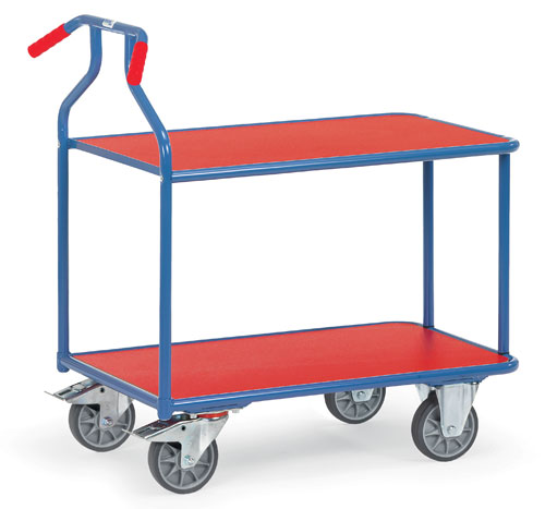 OPTILINER - table trolley with ergonomic handles - wheels with ball bearing