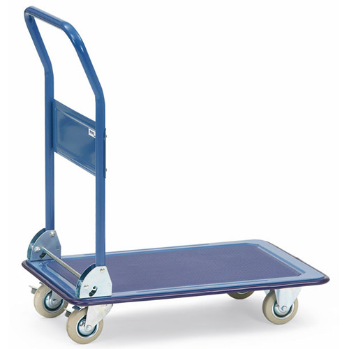 All-steel trolley, shelves made of pressed steel plate