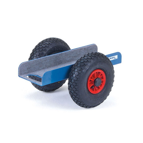 Sheet material Dolly in  U-form - available with diff. wheel types.