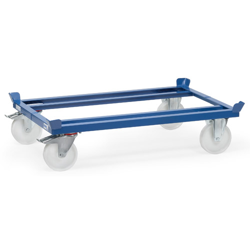 Pallet dollies, load capacity 1050 kg, wheels polyamide
