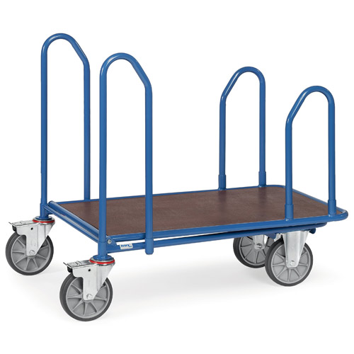 Cash and carry carts with 4 lateral frames