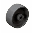 Black Mini polyamide wheel with plain bore  -  Ø 30 - 50 mm