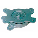 Ball bearing turnable made of malleable cast iron