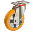 BigYellow-Castors with ROUND profile from Ø 125 until Ø 200 mm