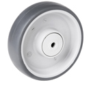 EASY GREY wheels with thermoplastic rubber with ball bearing