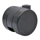 Furniture castors Ø 60 mm with HARD tread  - Fixing order separately!