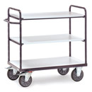 ESD Heavy Load Trolleys with 3 shelves - Conductive