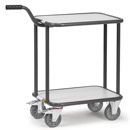 ESD dolly with gooseneck handle