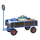 Turnable Trailer with 4 sides. (long sides 250 mm high)