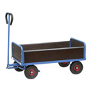 Turnable trailer with 2 ends (300 mm) and 2 plug-in sides (250 mm)