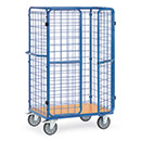 Parcel carts with double wing doors, hight 1800 mm