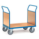 Platform truck with 2 timber sides - available in 4 sizes