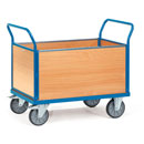 Platform truck with 4 timber sides - available in 4 sizes