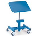 Mobile tilting stands, adjustable in height, inclinable