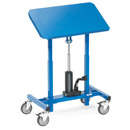 Mobile tilting stands, 250 kg, adjustable in height 720 - 1080mm, inclinable