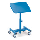 Mobile tilting stands 605 x 405 mm, inclinable
