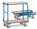 Foldable Table Trolley, 2 shelves - Load capacity 250 kg - available in 2 Sizes