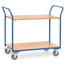 Table top carts with 2 shelves
