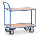 Table truck with 2 shelves - available in 2 sizes