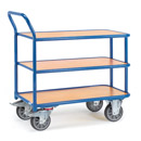 Table truck with 3 shelves - available in 2 sizes