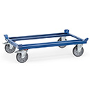 Pallet dolly, load capacity 750 kg, wheels TPE
