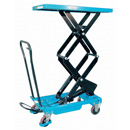 Manual Double Scissor Lift Tables - Lifting height more then 1000 mm