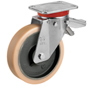 STRONG Swivel castor with total brake