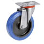 Blue-Wheel Lenkrolle mit
