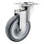 Hospital swivel castor with
