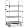 Shelf truck with 4 shelves, Extra hight 1800 mm