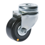Mini Swivel castor, bolt hole with