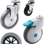 Hospital and nursing home castors