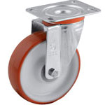 Swivel and fixed castors