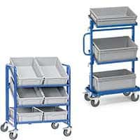 EURO-Boxes and EURO Trolleys