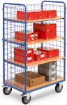 Shelf-, parcel- and box-trolleys